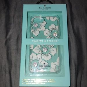 Kate Spade Floral Phone Case (iPhone 8,7,6,6s)